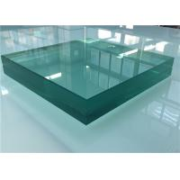China Sound Control Toughened Laminated Glass , Acoustic Laminated Glass For Shower Door wholesale
