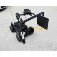 China 500m Wireless Control Bomb Detection Robot , Explosive Bomb Disposal Robot wholesale