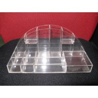 China Crystal Table Top Acrylic Cosmetic Display Makeup Organizer For Rouge wholesale