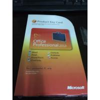 China Microsoft Office 2010 Product Key Card For Microsoft Office 2010 Professional on sale