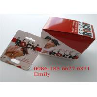 Quality Customized Logo Blister Card Packaging PET Material For Male Enhancement Pills for sale