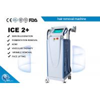 China Fast Pemanent E - Light Ipl + Rf Laser Hair Removal Machine Multifunction Cooling System wholesale