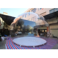 China 5m Dia Single Bubble Inflatable Bubble Tent Without Tunnel wholesale