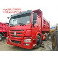 China 25 30 40 Ton Used Howo Dump Truck More Than 8L Engine Capacity Diesel Fuel on sale
