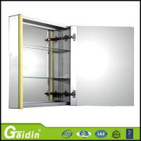 China China supplier home furniture high quality bathroom furniture bathroom cabinet with mirror and LED light wholesale
