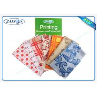 China 30-80 Gram PP Spunbond Non Woven Tablecloth / Table Cover Panton For Hotel / Restaurant wholesale