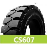 China solid forklift truck tires wholesale
