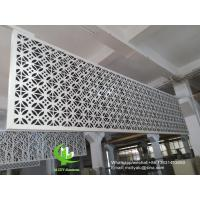 China Metal aluminum facade cladding wall for facade curtain wall  with 3mm thickness aluminum panel wholesale