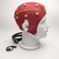 China Biofeedback ( Neurofeedback ) EEG Electrode Cap 24 inch Lead Wire wholesale
