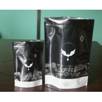 China Matt Black Aluminum Foil Coffee / Tea Bags Packaging Mouisture Proof Bags wholesale