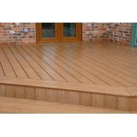 China Totally Recyclable WPC Composite Decking Timber For Garage Flooring wholesale