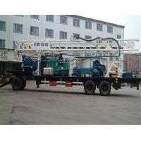 China 24 T 380Volt BZT600 Water Well Drilling Equipment / Rotary Drilling Rig on sale