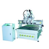 China surpplier GF-1325T3 Pneumatic three heads  ATC wood carving machine china manufacture google wholesale