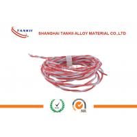 Quality Chemical Resistance Thermocouple Cable Solid / Twisted Conductor Type for sale