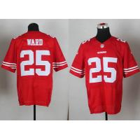 China nike nfl San Francisco 49ers 25 Jimmie Ward red elite jersey wholesale