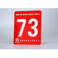 "China ABS Rotary Engravable Plastic Sign Board Tamper Proof With Size 24""X 48"" wholesale"