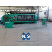 China Large Hexagonal Wire Netting Machine 4300mm Width For Making Cylinders Gabions wholesale