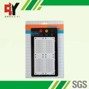 China University Lab Black Case Solder Electronic Bread Board 3 Binding Posts wholesale