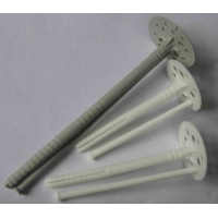China New or recycled plastic Dowel nail used for heat preservation system or EPS wholesale