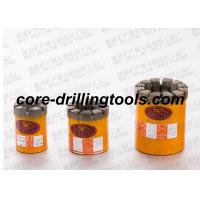 China Wet Diamond Core Drill Bits Impregnatred Casting High Matrix 9mm - 16mm wholesale