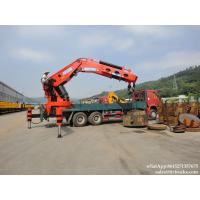 China Custermizing 160T knuckle boom crane on truck chassis cargo truck sale price  WhatsApp:8615271357675 wholesale