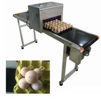 China High Speed Egg Date Code Printing MachinesWith Continuous Spray Printing Function wholesale