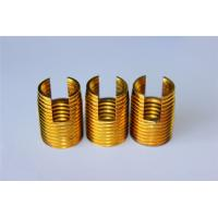Buy cheap high quality and hot sales Customied self tapping threaded insert M3 M4 M5 M6 M8 from wholesalers