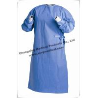 China Protective Non Woven Surgical Gown Lightweight Breathable SMS / SMMS wholesale