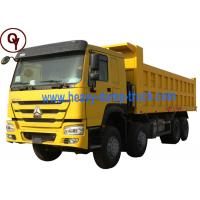 China Sinotruk Howo 371hp 12 wheeler Tipper dump Truck Price for Sale 8x4 40Tons on sale