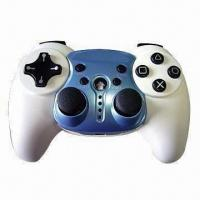 China Wireless Game Pad/Controller with Dual Vibration Shock Feedback and 12 Analog Buttons wholesale