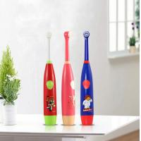 China Rotary Lovely Baby Teeth Care Products Battery Powered Food Grade ABS wholesale