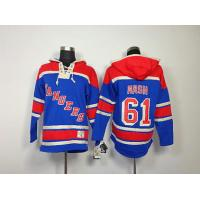 China NHL New York Rangers 61 Rick Nash Blue Hoodies Jersey wholesale