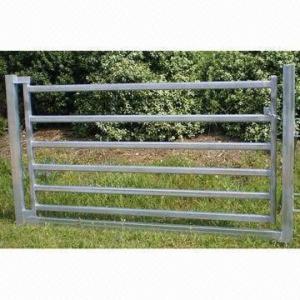 China 80 x 40mm Oval Rail Horse Panel Gate wholesale