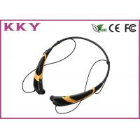 China Cell Phone Bluetooth Headset Around Neck , Magnetic Wireless Earbuds For Smartphone wholesale
