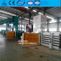 China Fully automatic Hydraulic baling press machine for sale wholesale