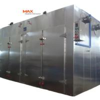 China Rotating Hot Air Brush Dryer Brick Drying Machine With Customized Colour on sale