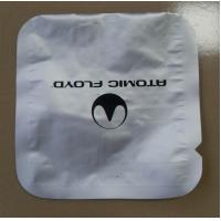 China Electronic Products Foil Pouch Packaging Round Corner Silver Three Side Seal wholesale
