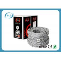 China CCTV UTP Cat5e Ethernet Cable CCA / COPPER 1000ft per Easy Pull Box on sale
