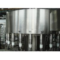 China Industrial  Mineral or sparkling Water Filling Machines / PET bottle filling line system wholesale