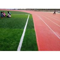 China Not Reflective Modular Sports Flooring Anti Static For Outside Running Track wholesale
