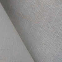 Buy cheap 100mm Width Wall Covering White Fiberglass Tissue from wholesalers