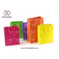 China Luxury Gift Custom Paper Bag Cotton Handle With Your Own Brand Logo wholesale