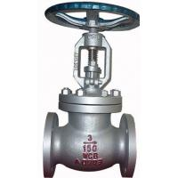 China Bolted Bonnet Ansi Standard Cast Steel Flanged Globe Valve With Hand Operated wholesale