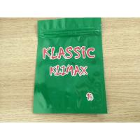China Recycled Laminated Aluminum Foil Packaging Herbal - Incense Mylar Ziplock Bag wholesale