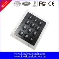 China Liquid Proof Panel Mount Keyboard Numerical Keypad For Security Door wholesale