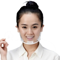 China Food Service Sanitary Transparent Plastic Mouth Cover wholesale
