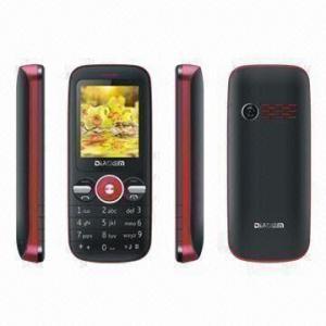 China CE/FCC Dual-SIM Phone, Supports Bluetooth/Camera/GPRS/WAP/MP3/MP4 Players and FM Radio wholesale