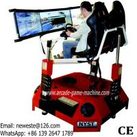 China NYST Amusement Equipment Adults Arcade Games 3 Screens 3D Video VR Simulator Drive Car Racing Game Machine on sale