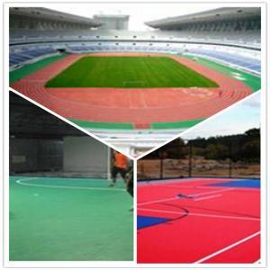China 3W Outdoor Football Court / Suspend Interlocking / Pvc flooring wholesale