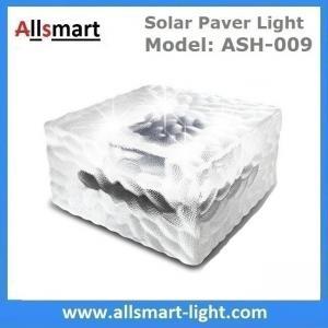 China 4x4 inch Square Solar Paver Lights Waterproof Solar Brick Lights IP68 Solar Underground Inground Lights Maintenance Free wholesale